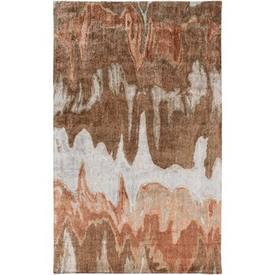 Scylla Brown Area Rug Rug Size: Rectangle 5 x 8
