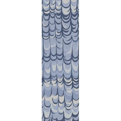 Harbor View Navy Area Rug Rug Size: Runner 26 x 8