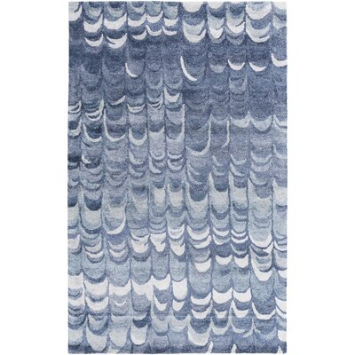 Harbor View Navy Area Rug Rug Size: 33 x 53