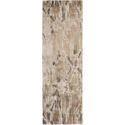 Scylla Mocha/Charcoal Area Rug Rug Size: Runner 26 x 8