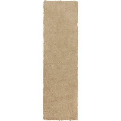 Braun Blond Area Rug Rug Size: Runner 23 x 8