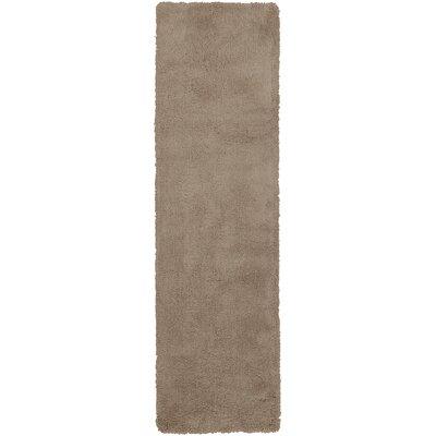 Braun Hand Woven Desert Sand Area Rug Rug Size: Runner 23 x 8