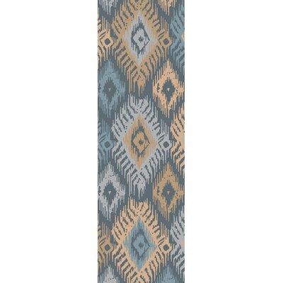Alisha Ikat Area Rug Rug Size: Runner 26 x 8