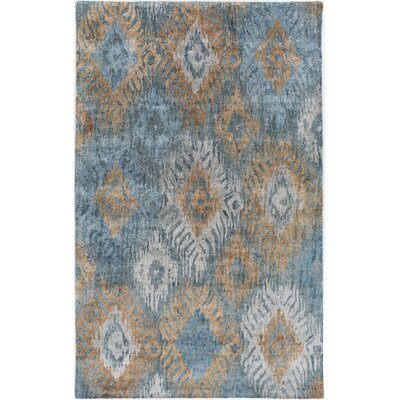 Alisha Ikat Area Rug Rug Size: Rectangle 5 x 8