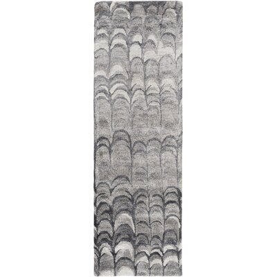 Harbor View Gray Area Rug Rug Size: Runner 26 x 8