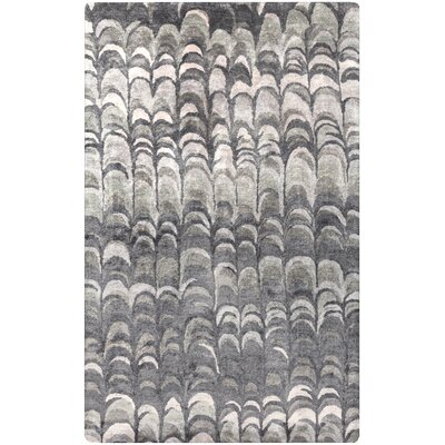 Harbor View Gray Area Rug Rug Size: 33 x 53