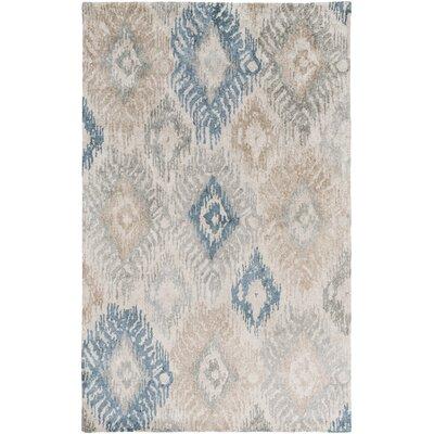 Alisha Handmade Silk Ikat Area Rug Rug Size: 5 x 8