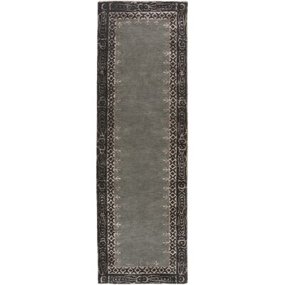 Alessandro Gray Area Rug Rug Size: Runner 26 x 8