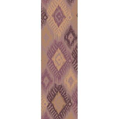 Alisha Handmade Ikat Area Rug Rug Size: Runner 26 x 8
