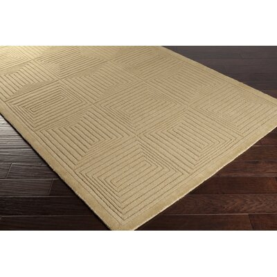 Mystique Wool Olive Area Rug Rug Size: Rectangle 33 x 53