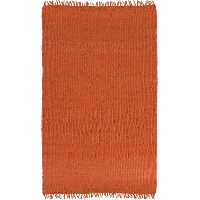 Lakeview Rust Area Rug Rug Size: Rectangle 5 x 8