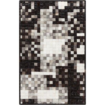 Bednar Black/Ivory Area Rug Rug Size: 8 x 10