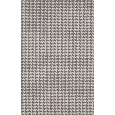 Bush Creek Charcoal/Light Gray Area Rug Rug Size: 2 x 3