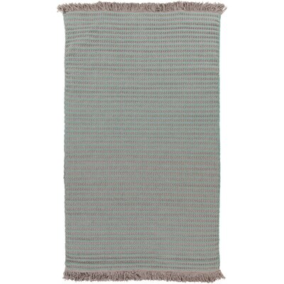 Ayana Hand-Woven Moss Area Rug Rug Size: Rectangle 4 x 6