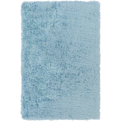 Monster Hand-Tufted Sky Blue Area Rug Rug Size: 2 x 3