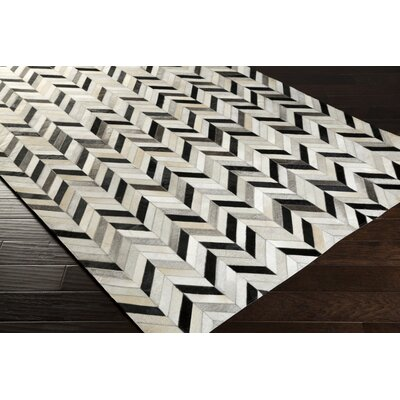 Janelle Light Gray Area Rug Rug Size: 2 x 3