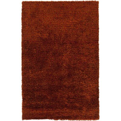 Matias Red Area Rug Rug Size: Rectangle 33 x 53