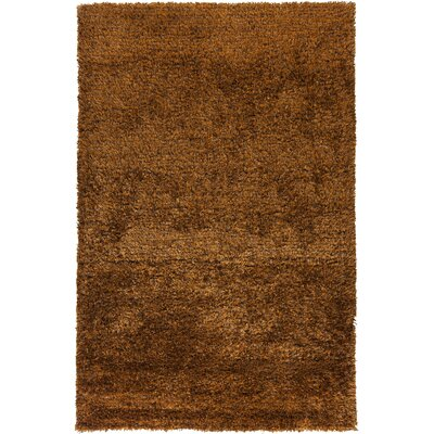 Matias Burnt Orange Area Rug Rug Size: 5 x 8