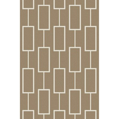 Aldred Beige Area Rug Rug Size: Rectangle 5 x 76