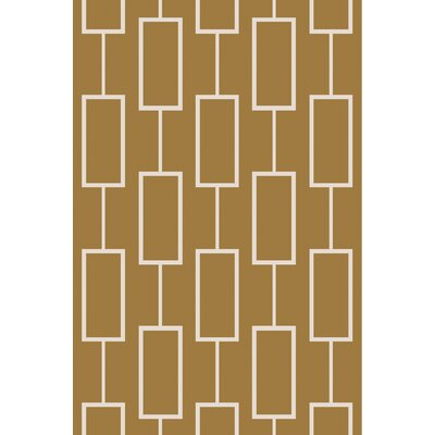 Aldred Hand-Tufted Olive/Beige Area Rug Rug Size: Rectangle 5 x 76