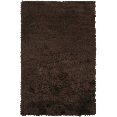 Wendi Brown Area Rug Rug Size: 5 x 8
