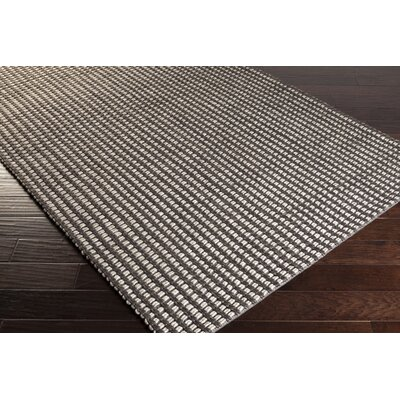 Stanford Charcoal/Ivory Area Rug Rug Size: Rectangle 8 x 10