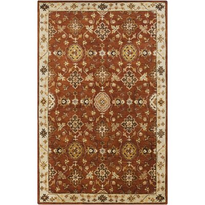 Ponce Burgundy Rug Rug Size: Rectangle 33 x 53