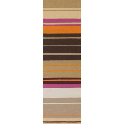 Fields Black Area Rug Rug Size: Runner 26 x 8