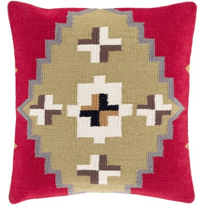 Throw Pillow Size: 18 H x 18 W x 4 D, Filler: Down