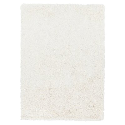 Hallum White Rug Rug Size: Rectangle 5 x 7