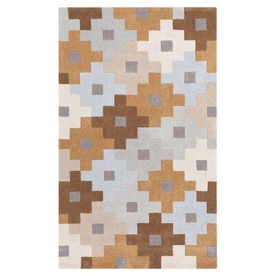 Millington Gray/Mocha Area Rug Rug Size: Rectangle 9 x 13