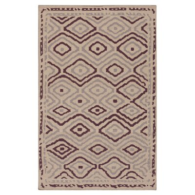 Adelaide Taupe Area Rug Rug Size: Rectangle 5 x 8