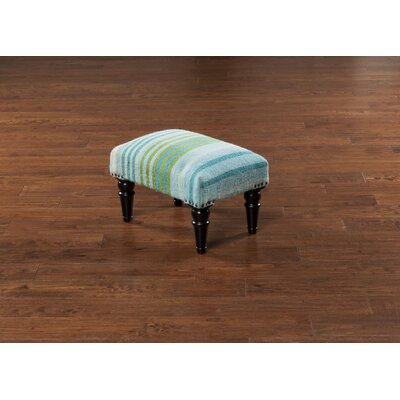 David Furniture Ottoman Upholstery: Teal