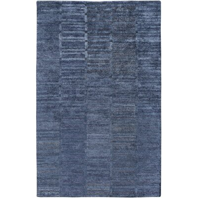 Clemmer Hand-Tufted Teal Area Rug Rug Size: Rectangle 5 x 8