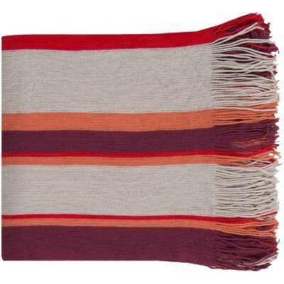 Jupiter Throw Blanket Color: Ash Gray