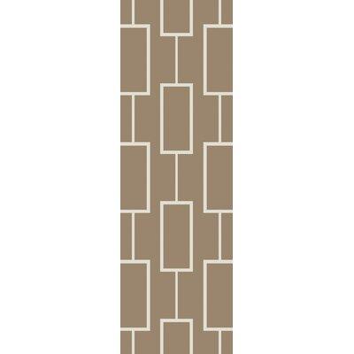 Aldred Beige Area Rug Rug Size: Runner 26 x 8