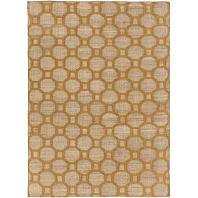 Brentford Mocha/Tan Area Rug Rug Size: Rectangle 2 x 3