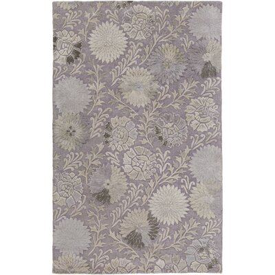 Christopherson Light Gray Area Rug Rug Size: Rectangle 2' x 3'