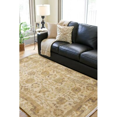 Charlbury Taupe Area Rug Rug Size: Rectangle 2 x 3