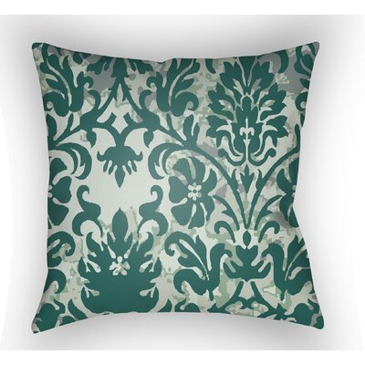 Amiyah Throw Pillow Size: 20 H x 20 W x 4 D, Color: Green