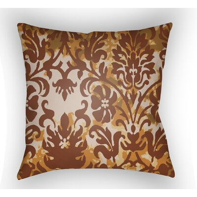 Amiyah Throw Pillow Size: 20 H x 20 W x 4 D, Color: Rust