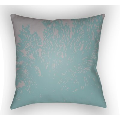 Broadbent Square Throw Pillow Color: Blue, Size: 22 H �x 22 W x 5 D