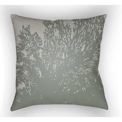 Broadbent Square Throw Pillow Size: 18 H x 18 W x 4 D, Color: Olive