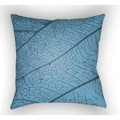 Morrow Throw Pillow Size: 18 H x 18 W x 4 D, Color: Blue