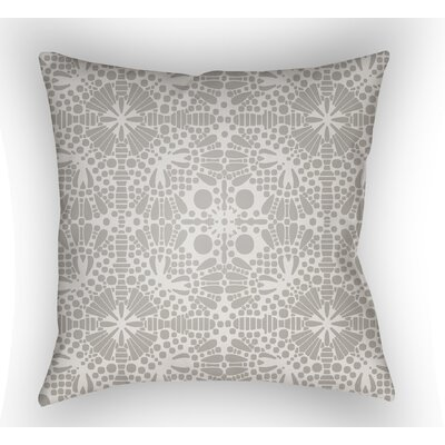 Zanuck Throw Pillow Size: 18 H x 18 W x 4 D, Color: Grey