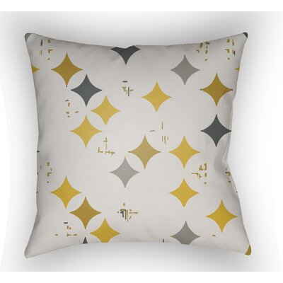 Wakefield Geometric Throw Pillow Size: 22 H �x 22 W x 5 D, Color: Yellow
