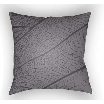 Morrow Throw Pillow Color: Dark Grey, Size: 22 H �x 22 W x 5 D