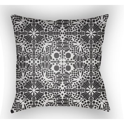 Zanuck Throw Pillow Size: 22 H �x 22 W x 5 D, Color: Black