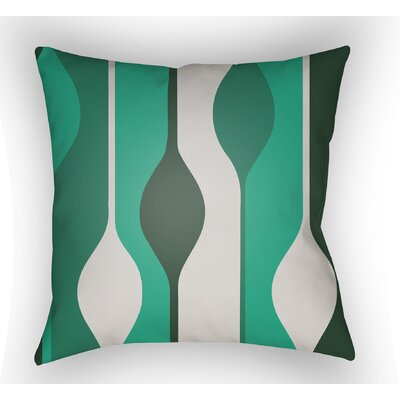 Wakefield Indoor Throw Pillow Size: 18 H x 18 W x 4 D, Color: Green