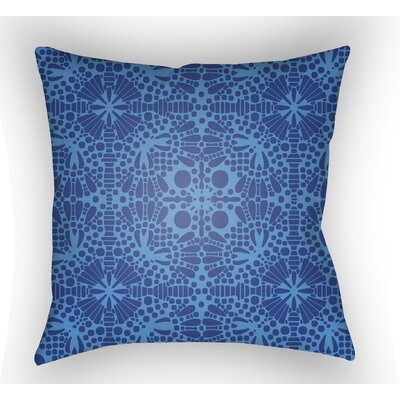 Zanuck Throw Pillow Size: 18 H x 18 W x 4 D, Color: Blue
